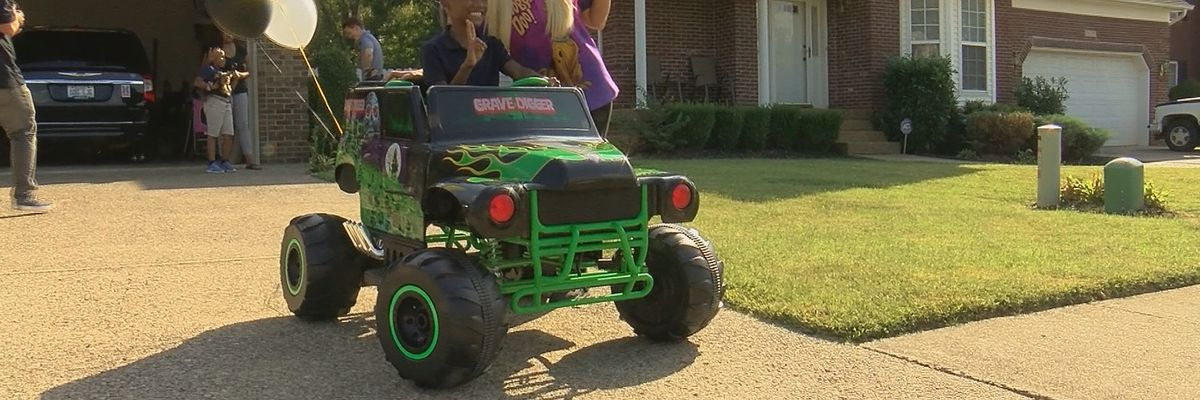 Positively WAVE: Military family gets 'Monster' surprise