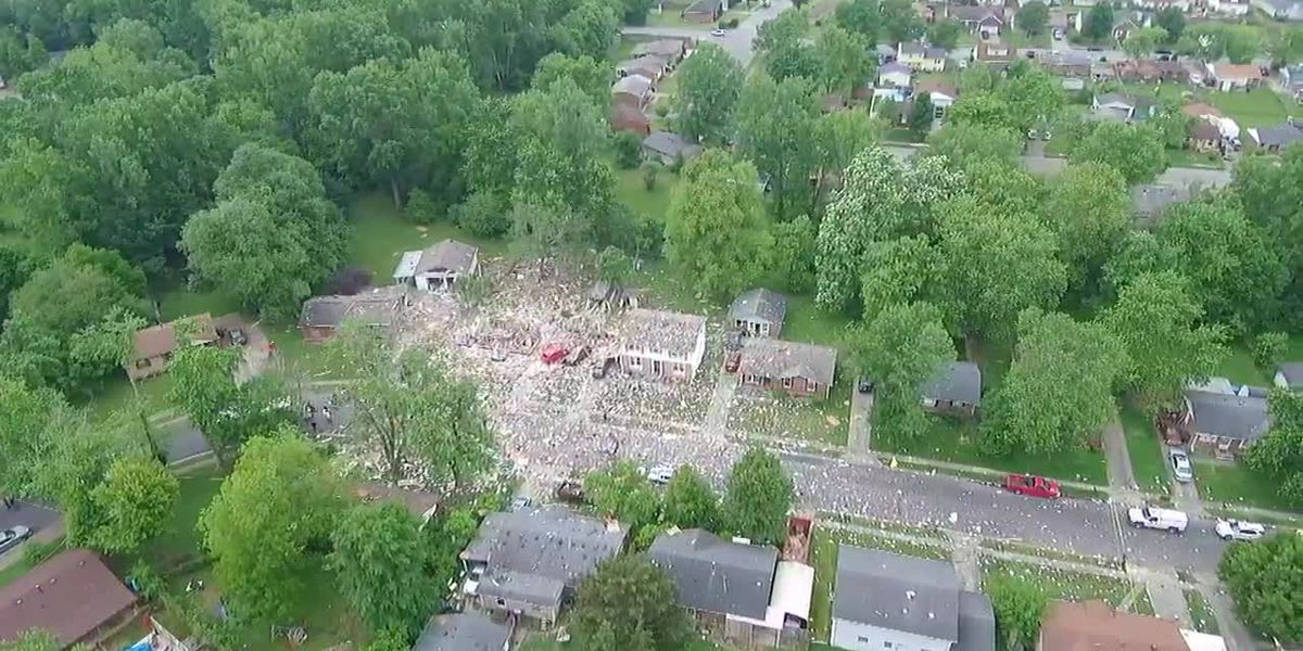Air 3: Home explosion in Jeffersonville