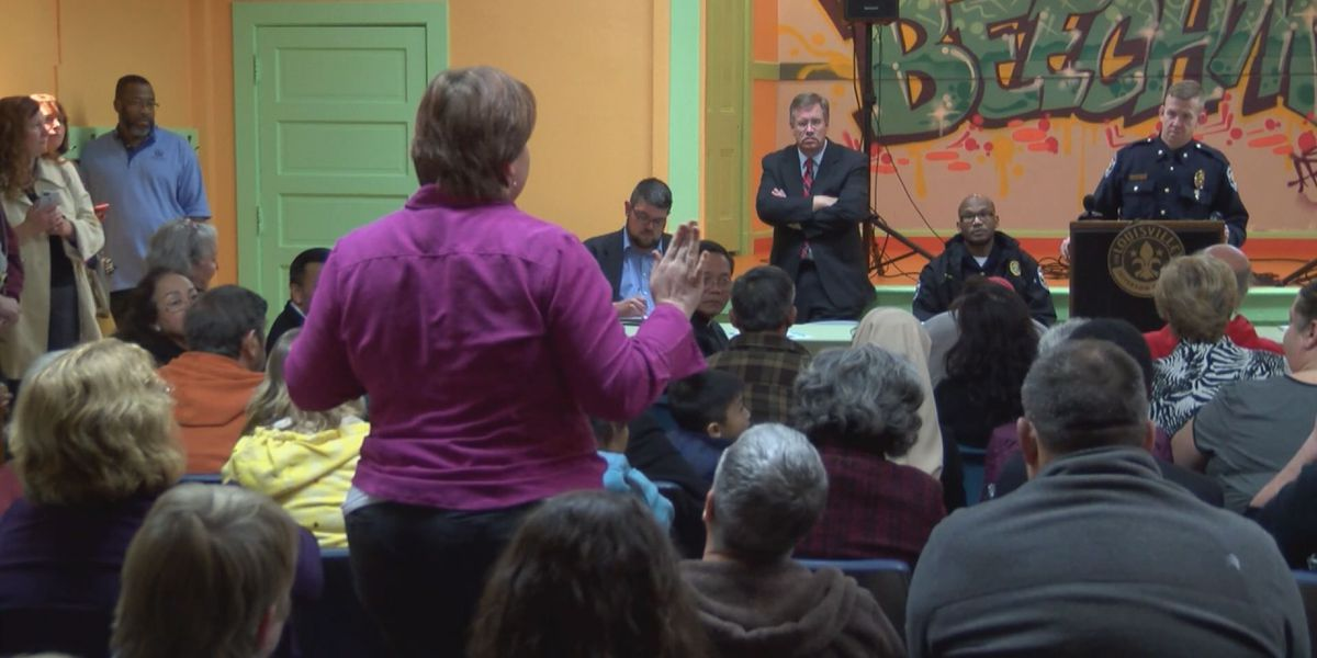 Tempers flare at community meeting following teen's death