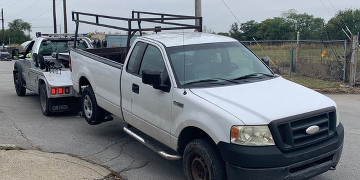 Another vehicle impounded for illegal dumping