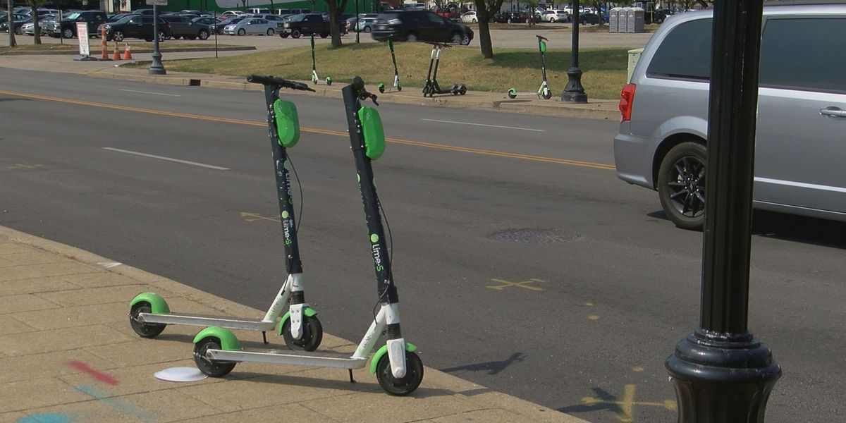 Brake lines cut on several scooters around town