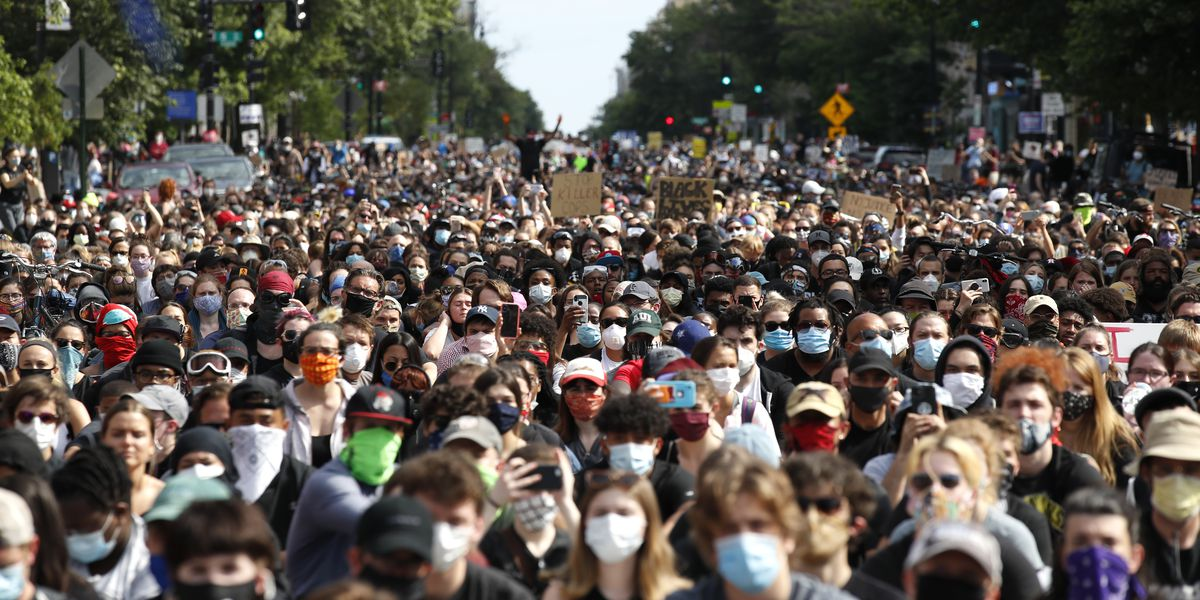 Little evidence that protests spread coronavirus in US