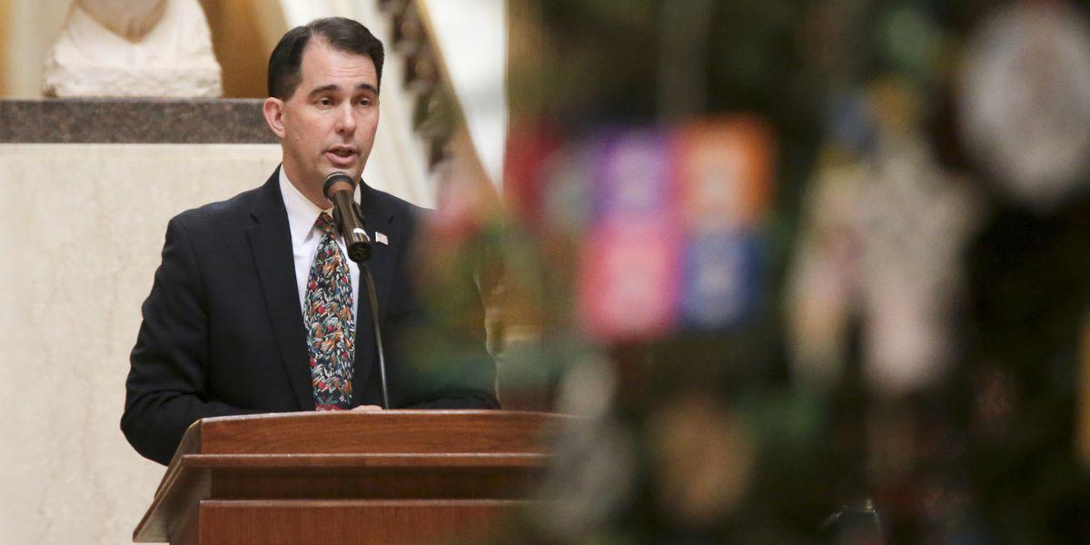 Walker: Line-item vetoes possible on some lame-duck bills