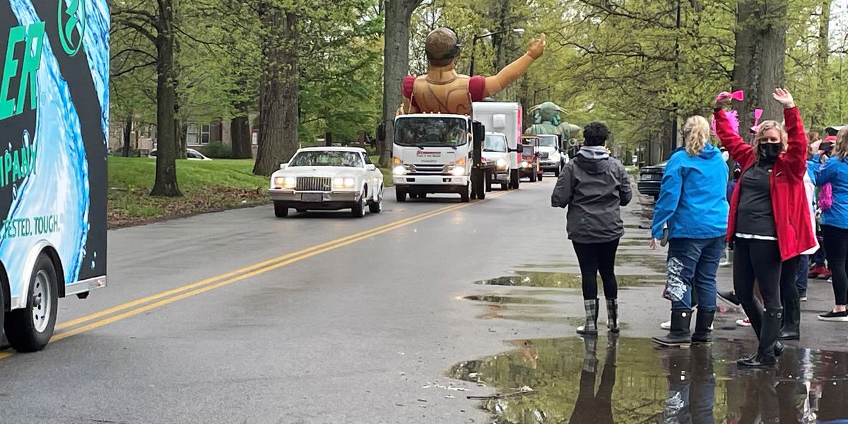 2021 Pegasus parade rolls through neighborhoods