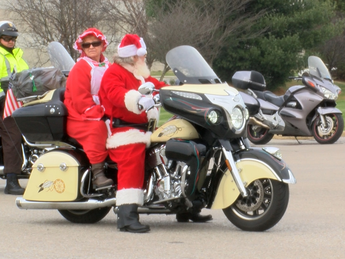 Riders spread Christmas joy in 38th Annual Toys for Tots Run in Louisville