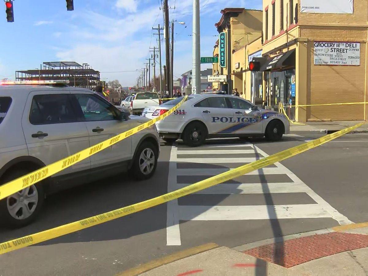 1 shot, killed inside store in Russell neighborhood