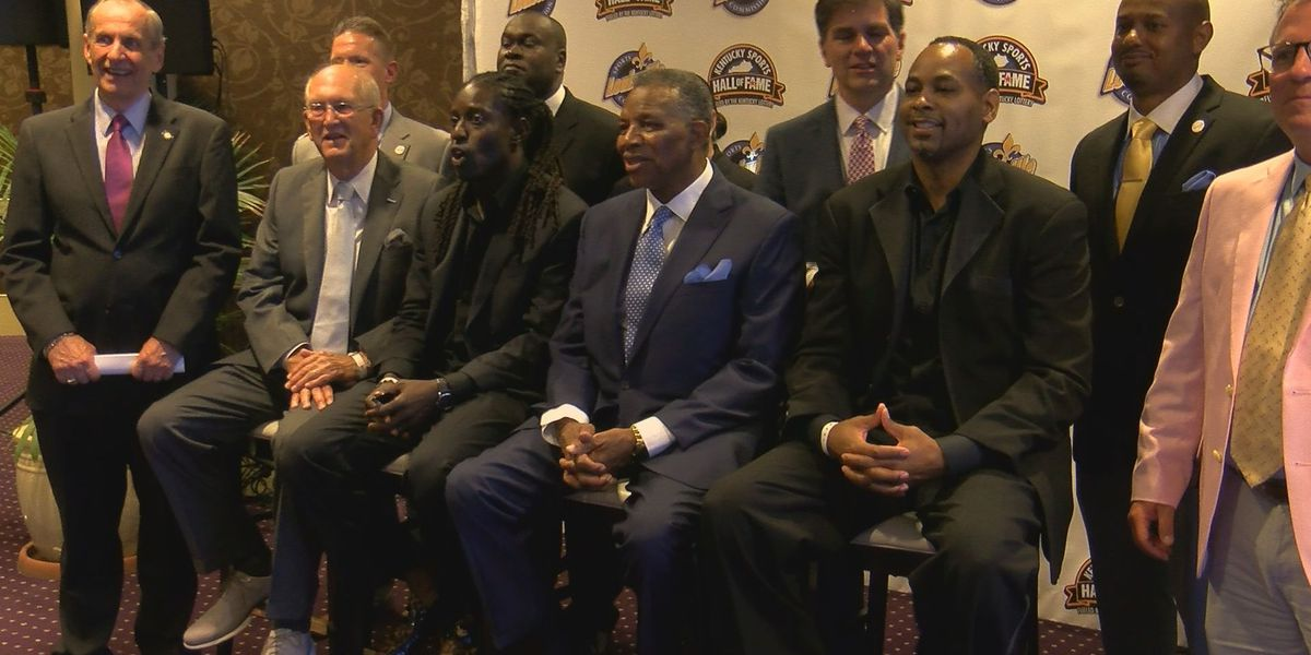 Kentucky Sports Hall of Fame welcomes new class