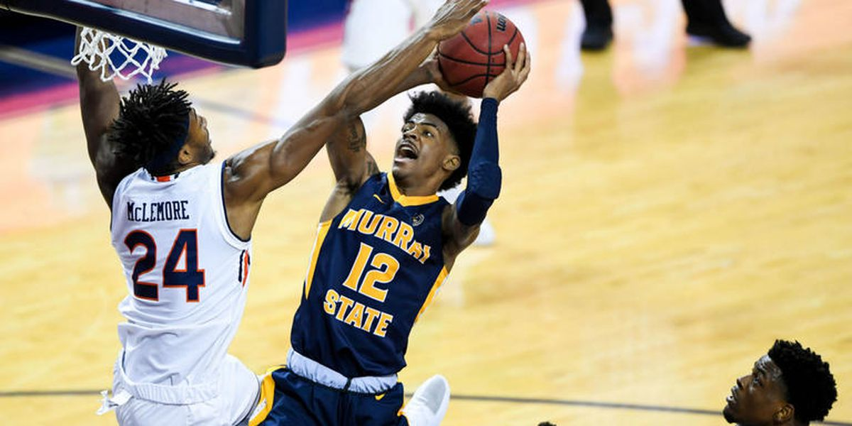 Murray State star Morant excites fans, scouts