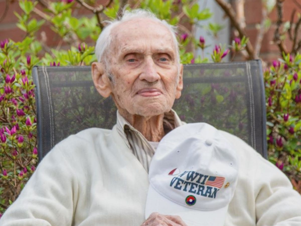 Family, friends honor World War II veteran