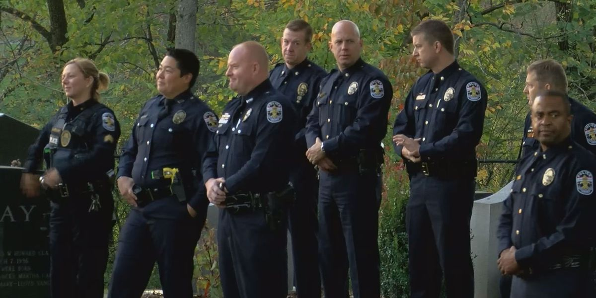 Family, friends, officers gather to remember fallen LMPD detective