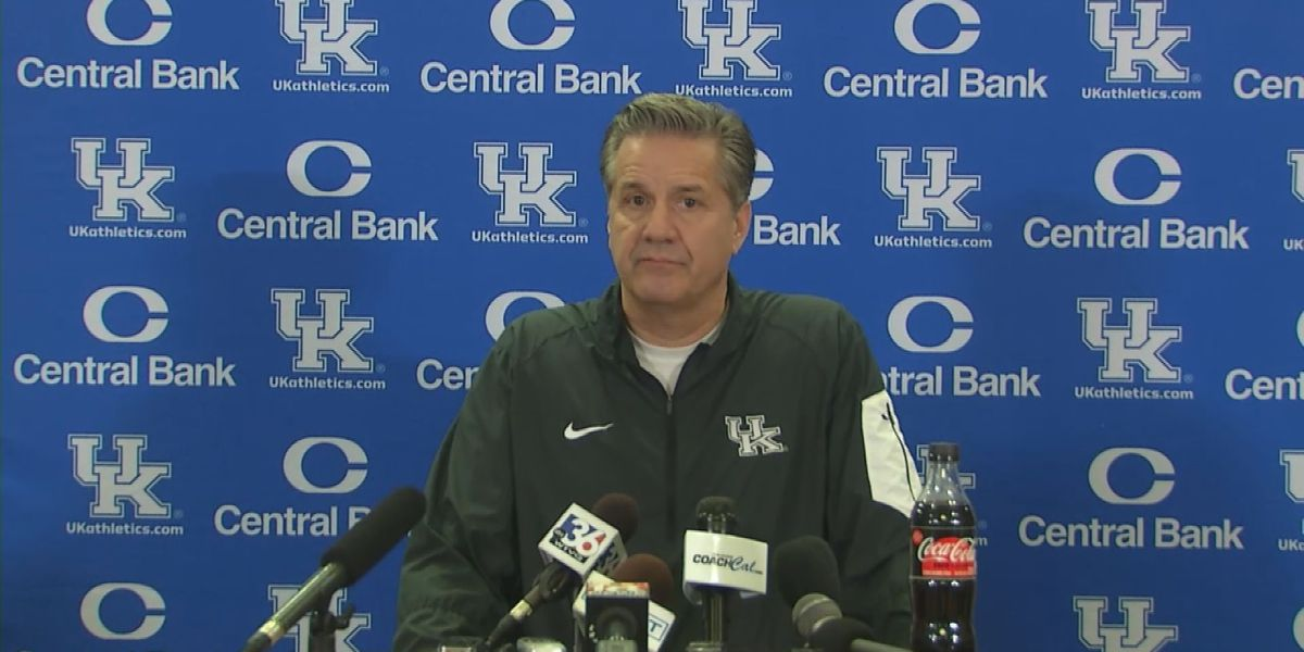 Calipari, players talk ahead of Cats game versus Texas A&M