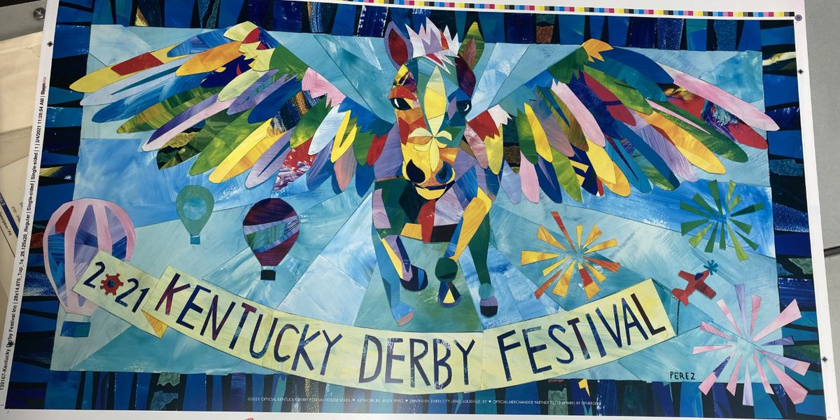 2021 Kentucky Derby Festival poster unveiled