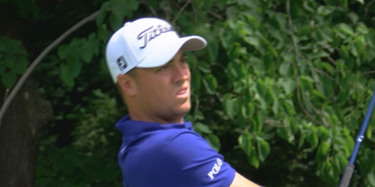 Justin Thomas, now #2 in the world, gets ready for U.S. Open