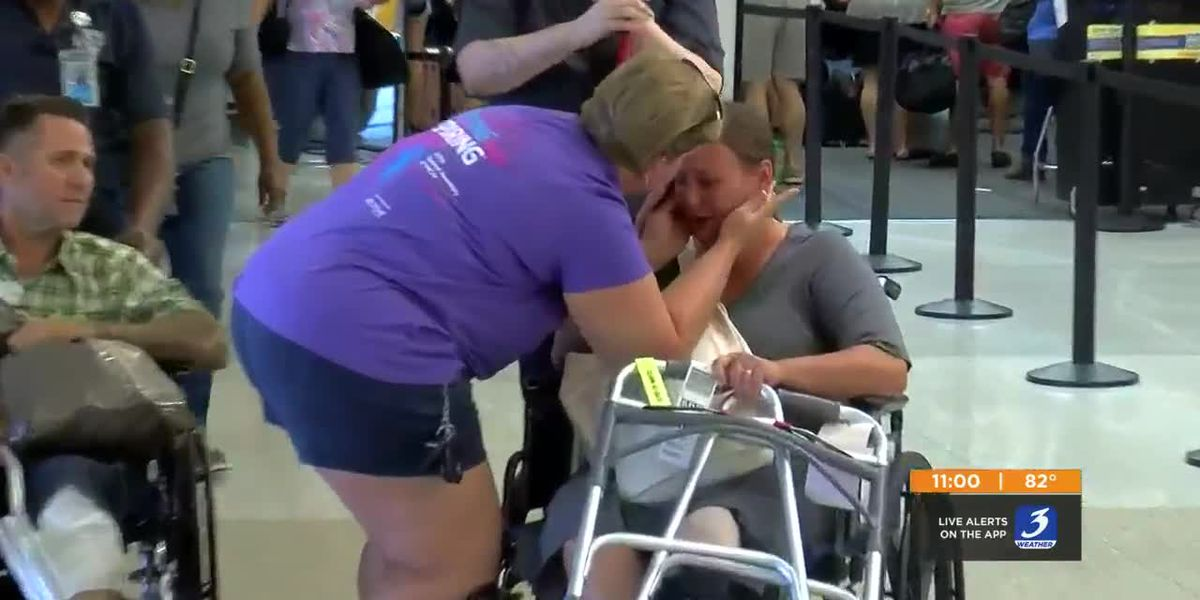 Louisville couple back home after hot air balloon crash in Las Vegas