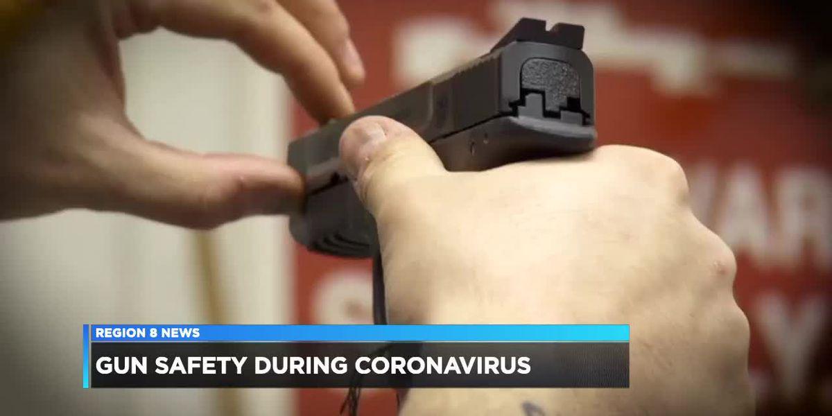 Gun safety highlighted during coronavirus crisis