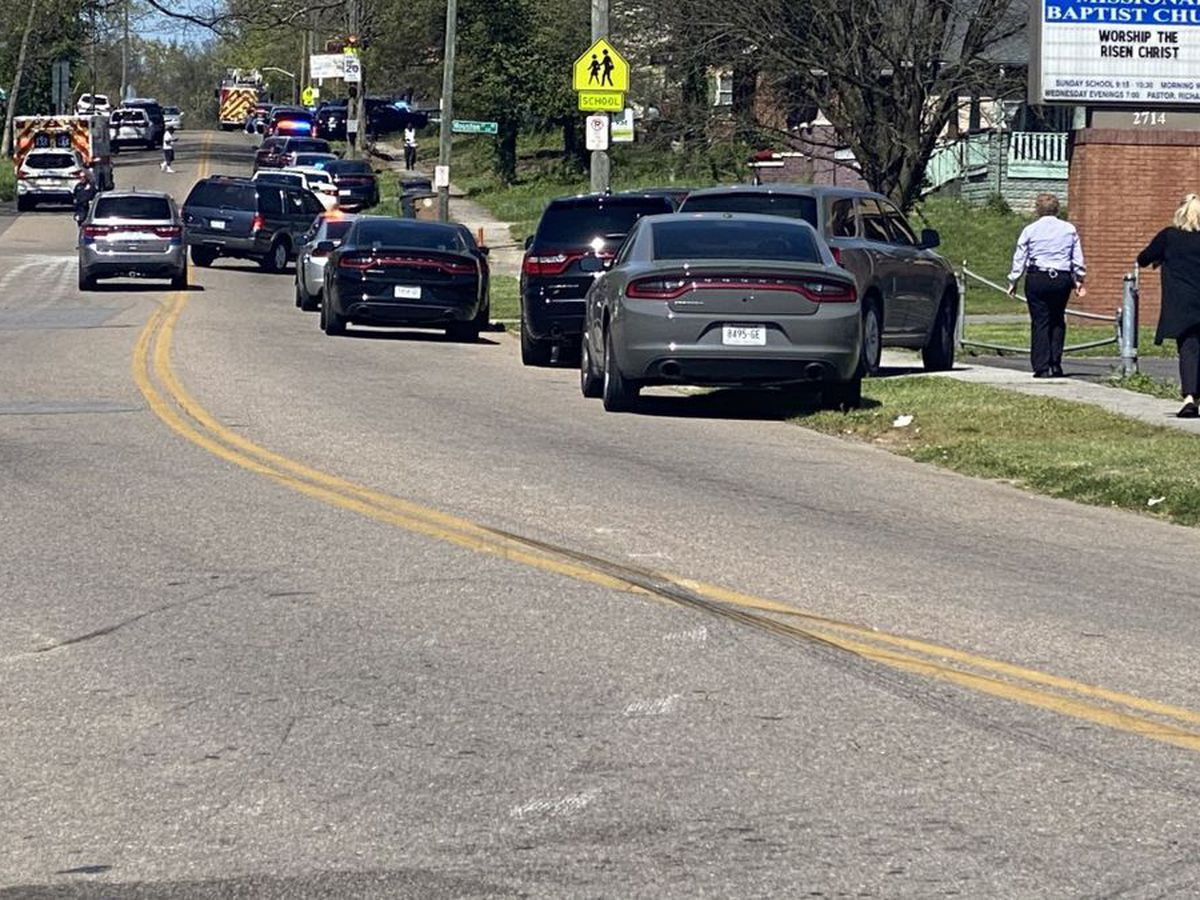 Multiple gunshot victims including Knoxville police officer at high school in Tenn.