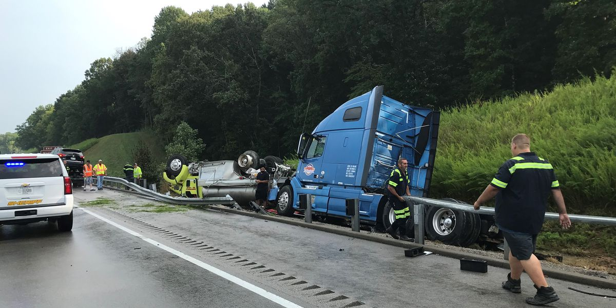 All lanes of I-65 South reopen in Hart County after crash involving firetruck