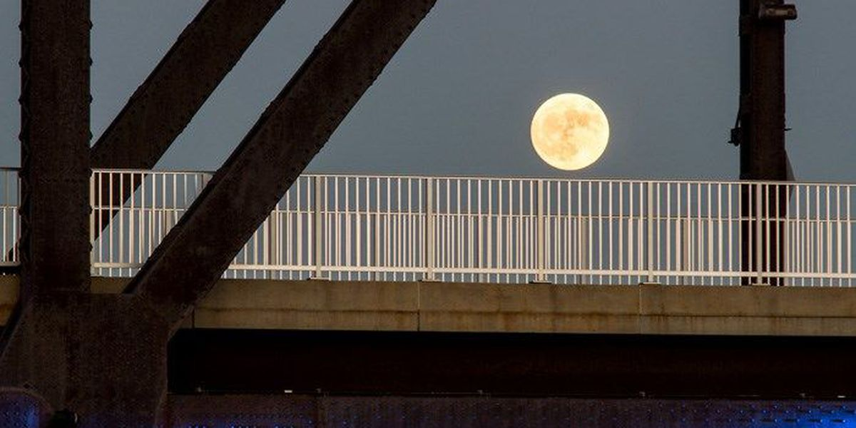 Watch 2017's only Supermoon Sunday
