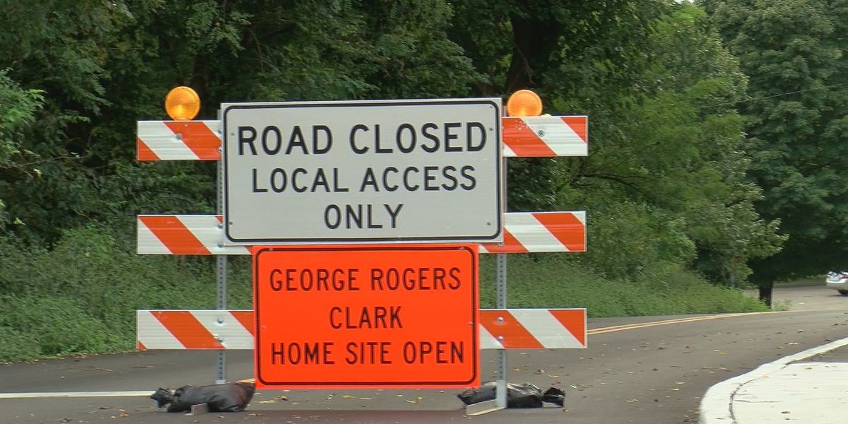 Traffic Alert: Several Clarksville streets closed due to erosion