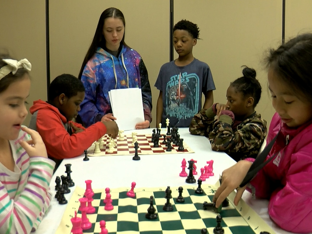 Strategies abound as West Louisville Chess Club prepares children for upcoming tournament