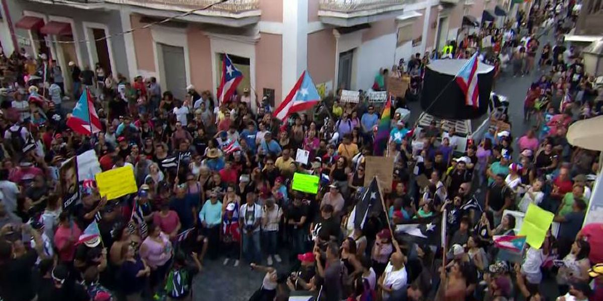 Puerto Rico prepares for massive protest to expel governor