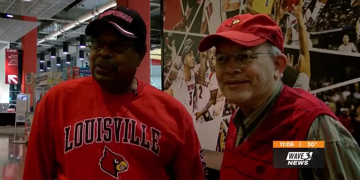 UofL basketball fans show up, voice optimism about football program