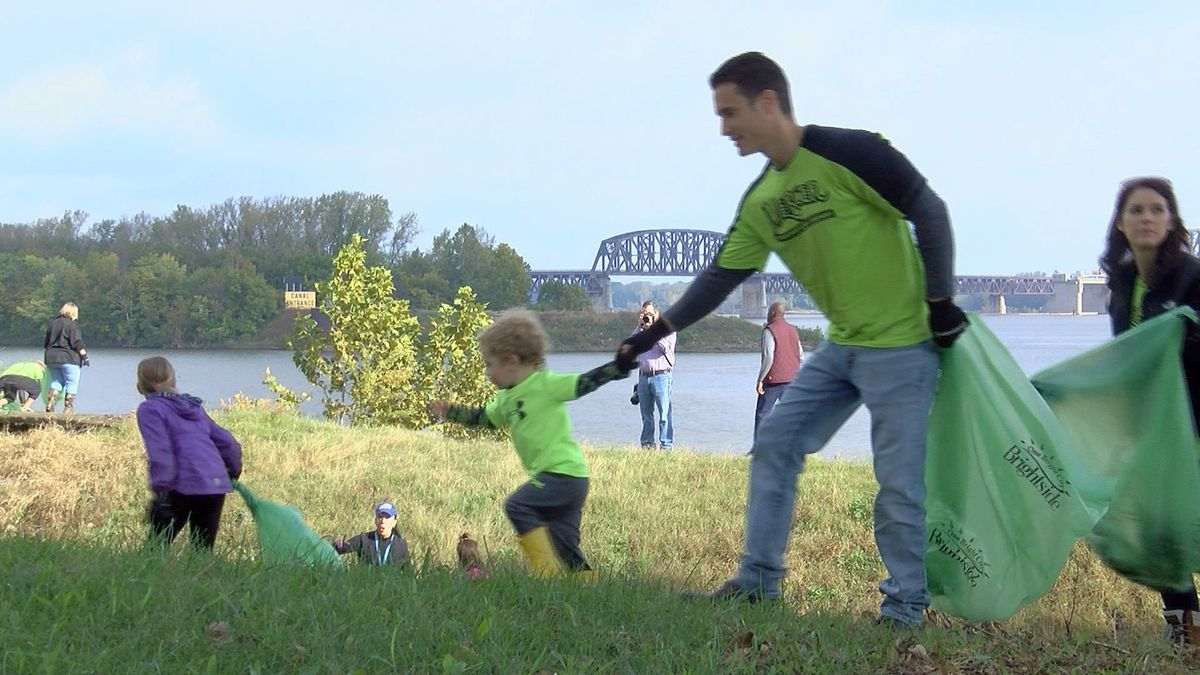 Brightside cleanup kicks off Phase IV of Waterfront Park