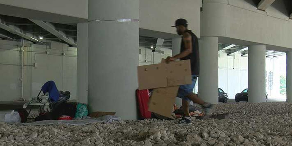 City officials say homeless camp was 'cleaned' not 'cleared'