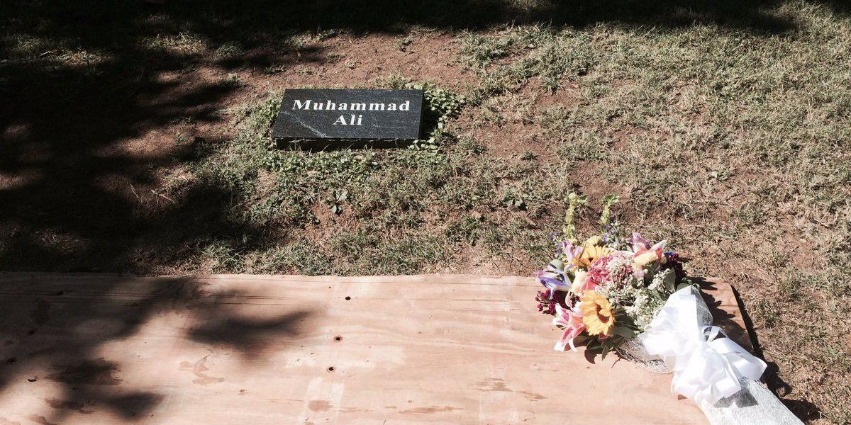 Visitors continue flocking to Ali's gravesite daily
