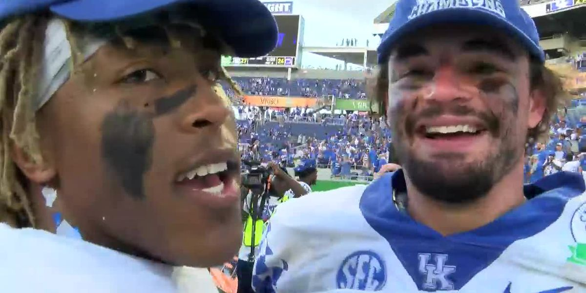 Benny Snell on Kash Daniel: 'I love this man'