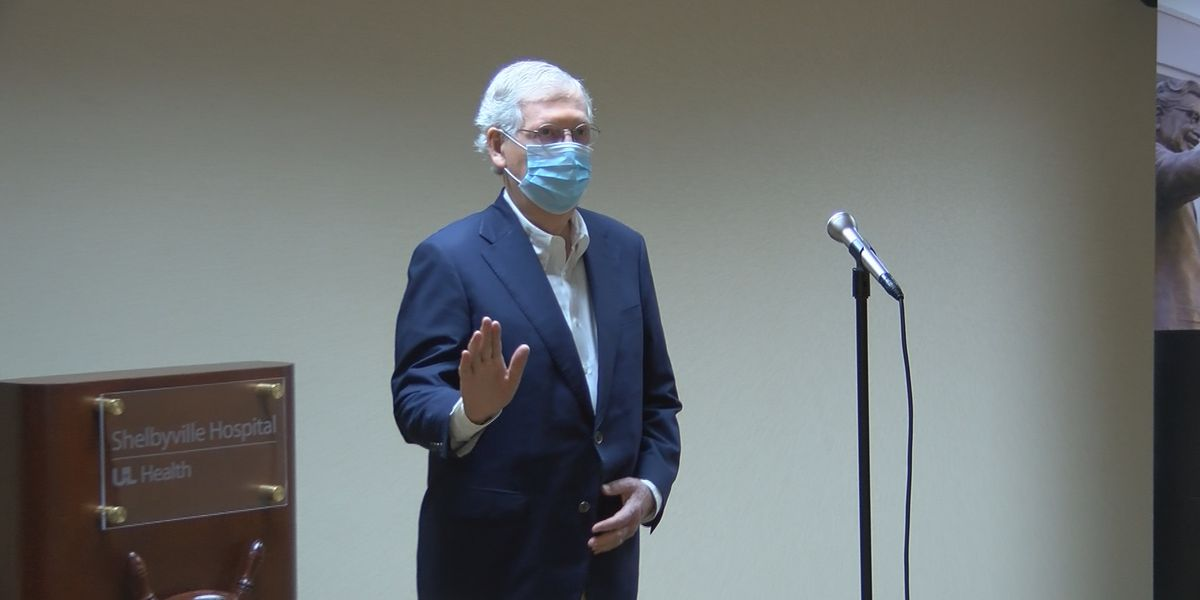 McConnell urges use of face masks, has 'total' confidence in Fauci