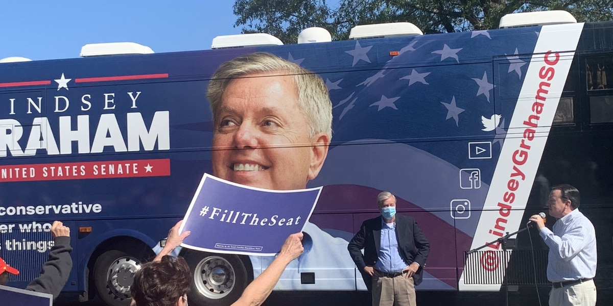Graham hosts rally in Columbia as Senate race reaches the final stretch