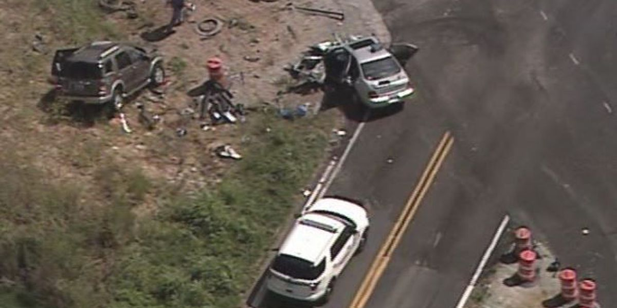 1 killed, 2 hurt in crash in Nelson Co.