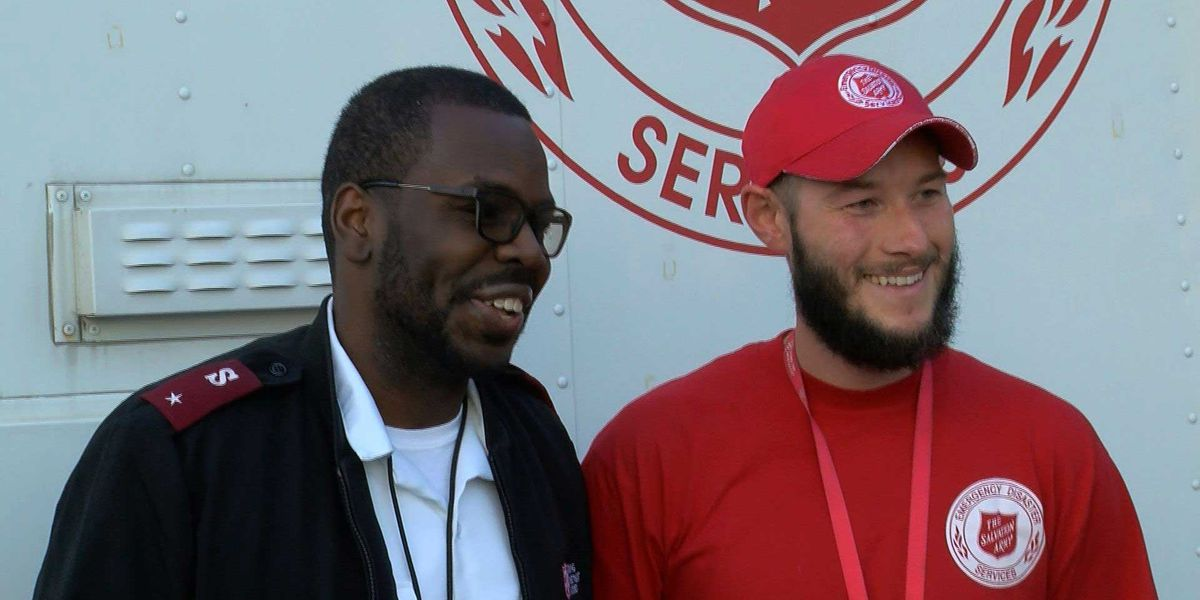 Louisville Salvation Army members head out to help Hurricane Michael victims