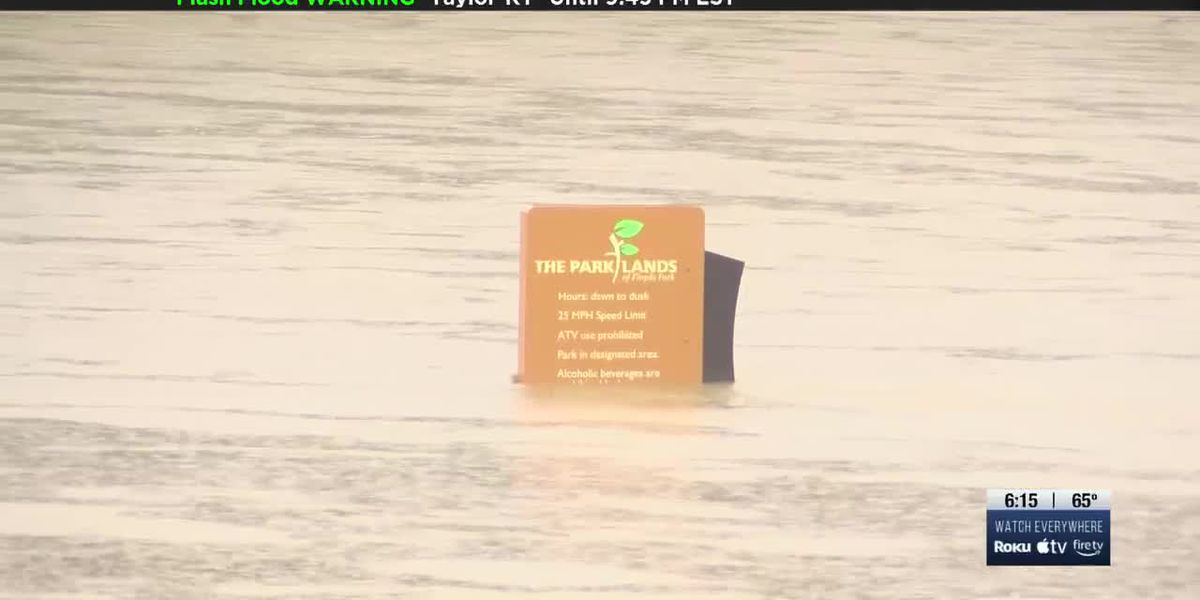 Flooding a problem for some in Louisville following heavy rainfall