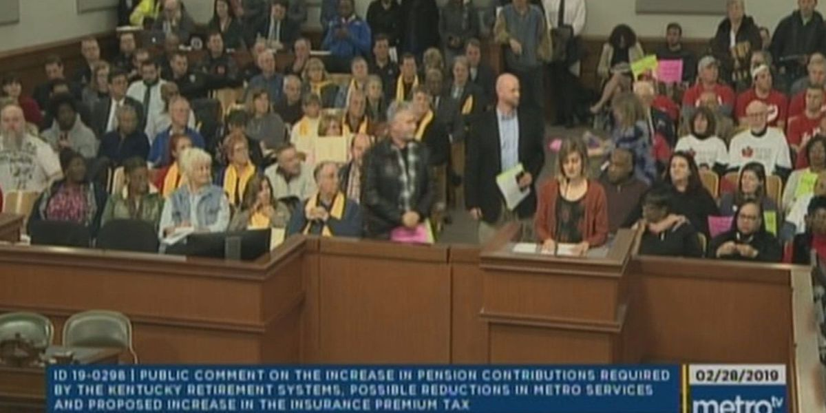 People pack Metro Council for public budget crisis meeting