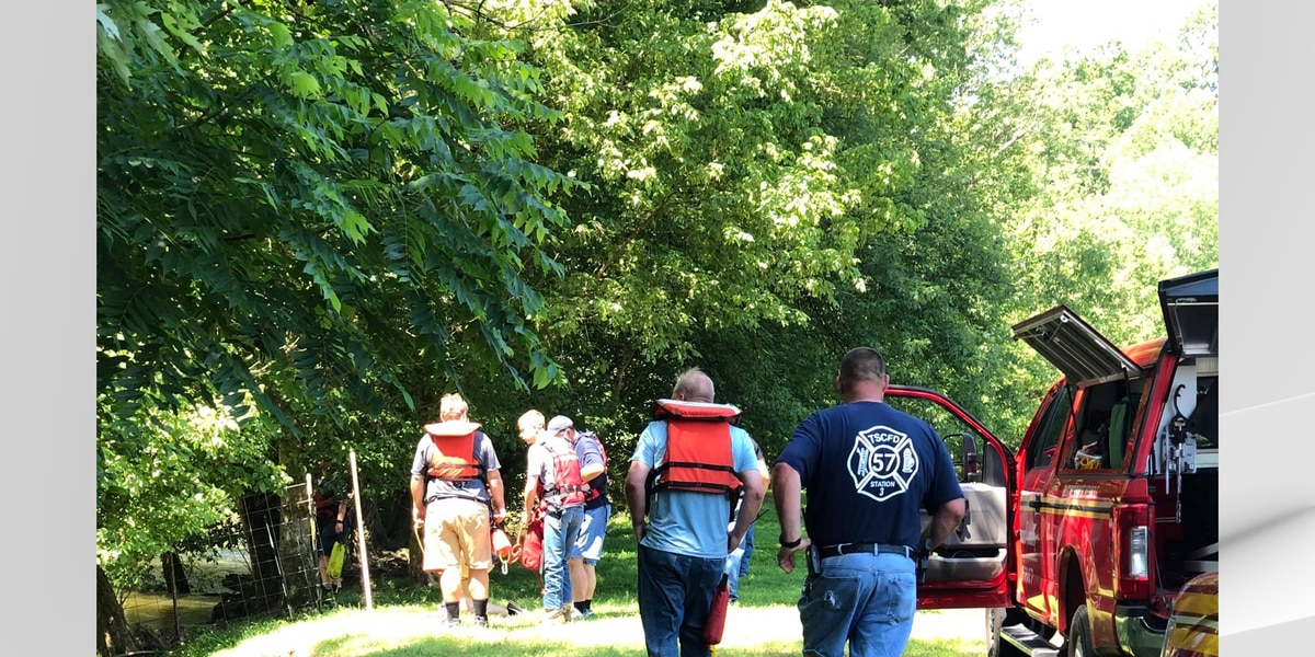Rescue crews save person from Salt River near Taylorsville Lake