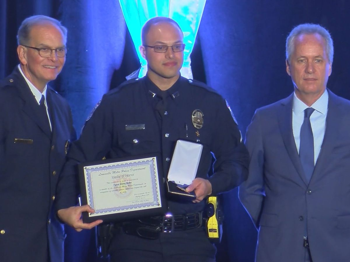 LMPD honors outstanding officers and civilians