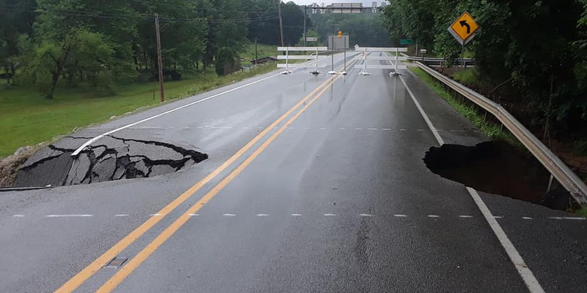 Busy Indiana road near Patoka Lake dealing with 2 blowouts