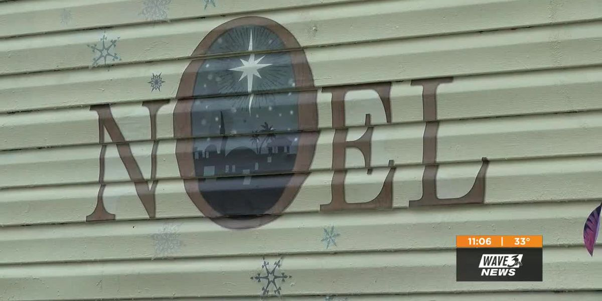KY woman forced to remove mural from home allowed to get holiday decal