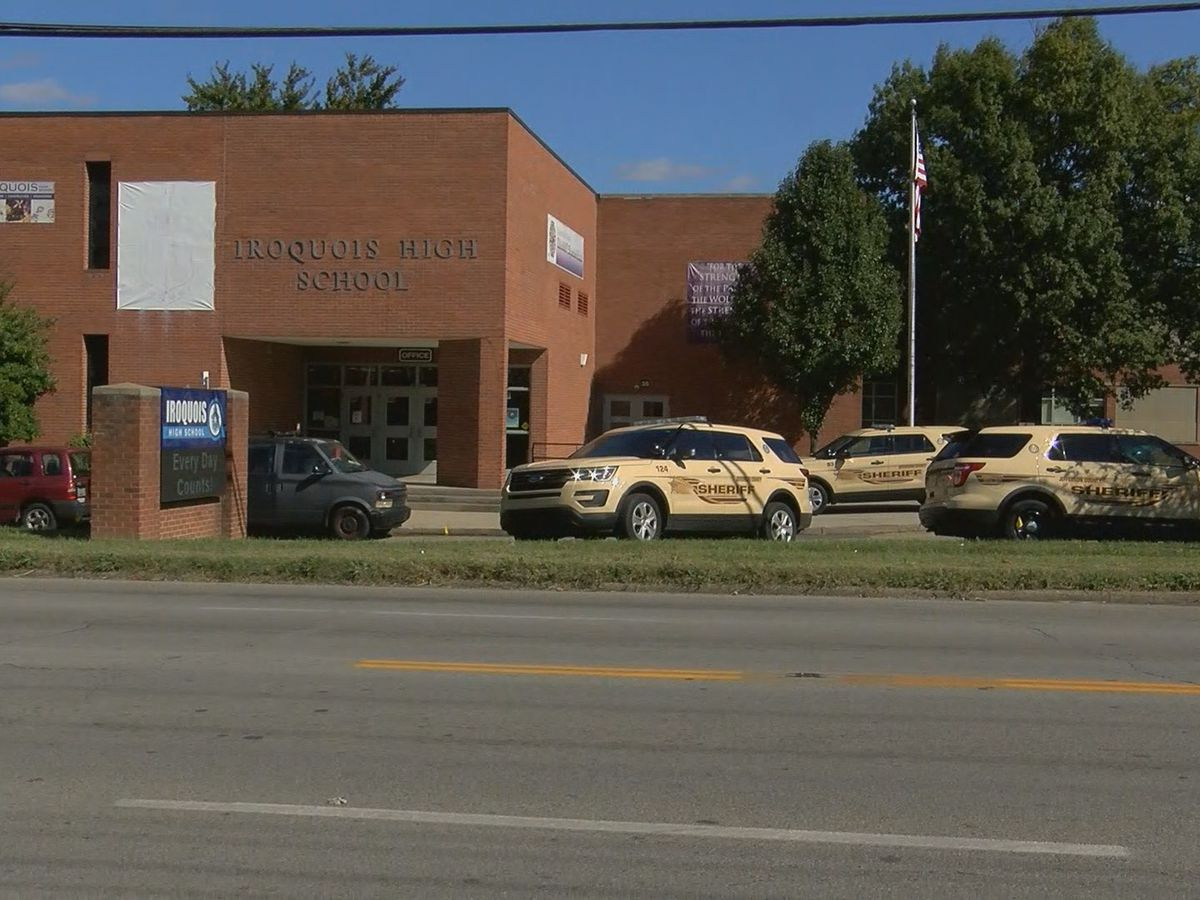 Video shows principal being assaulted during six-student brawl at Iroquois High School
