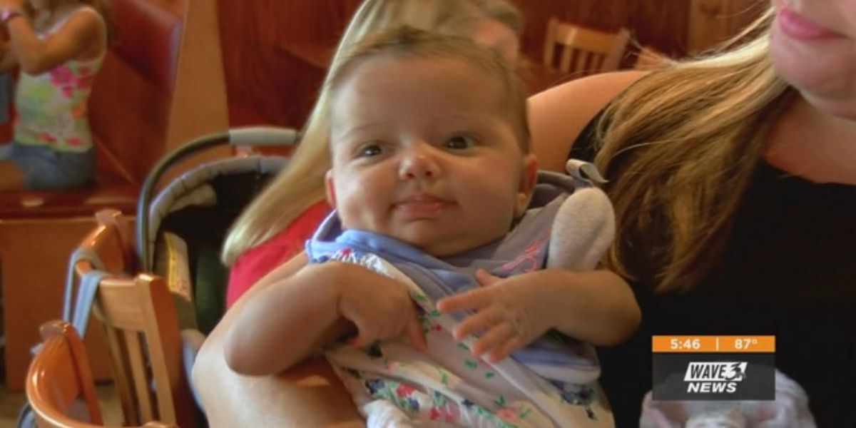 Pass the Cash: Community rallies behind baby born with rare condition