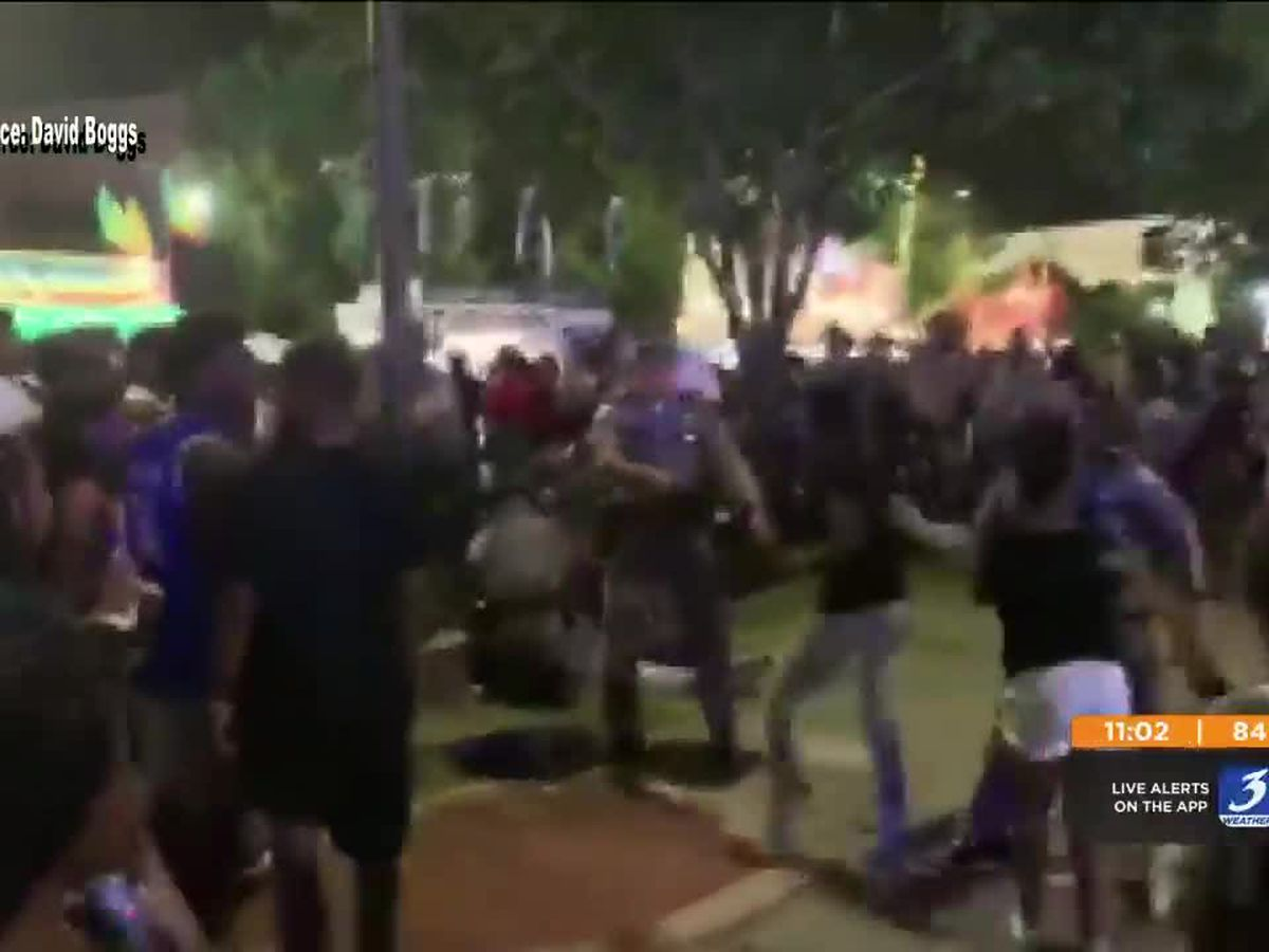 Caught on camera: videos circulate on social media following shot fired at Kentucky State Fair