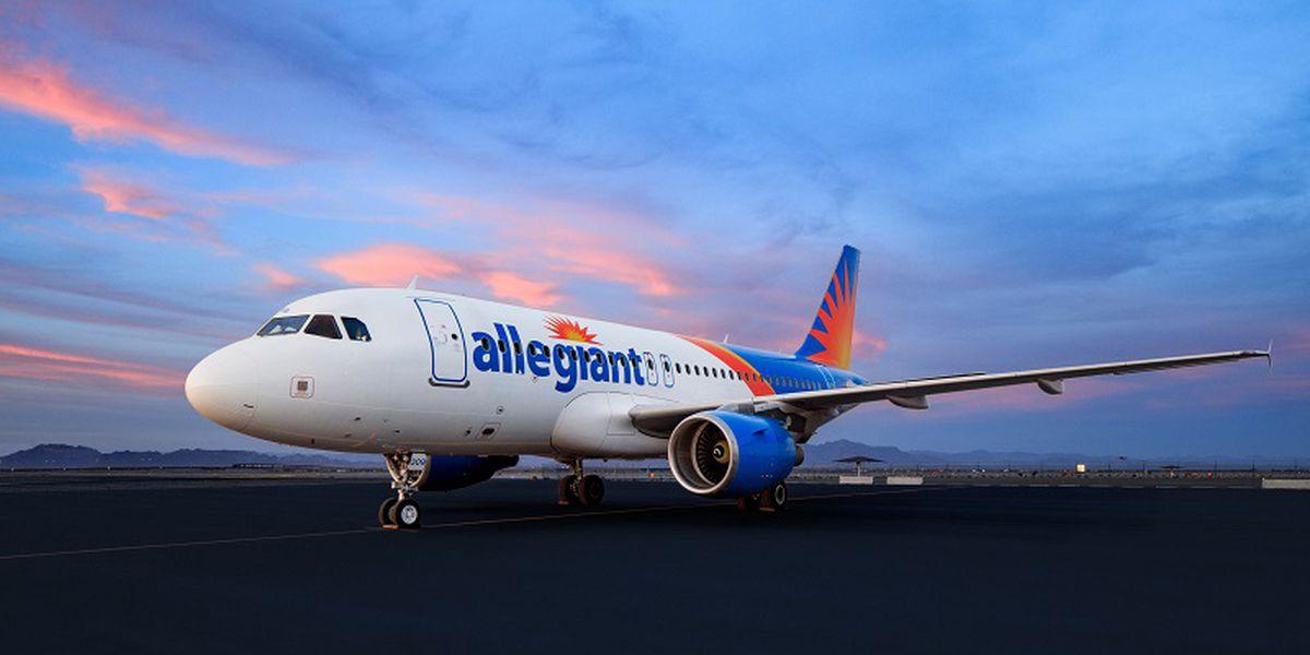 Allegiant announces non-stop flight to Charleston