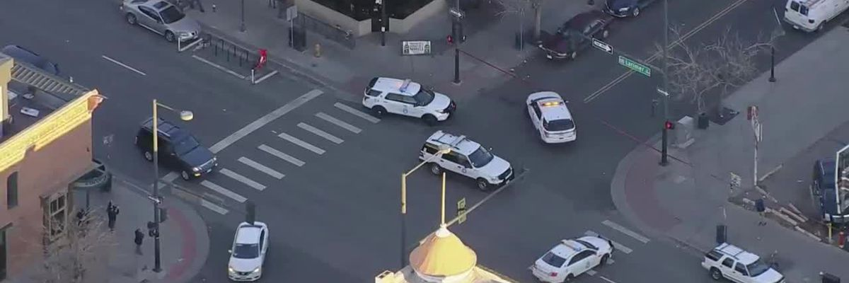 Four shot in downtown Denver and one killed