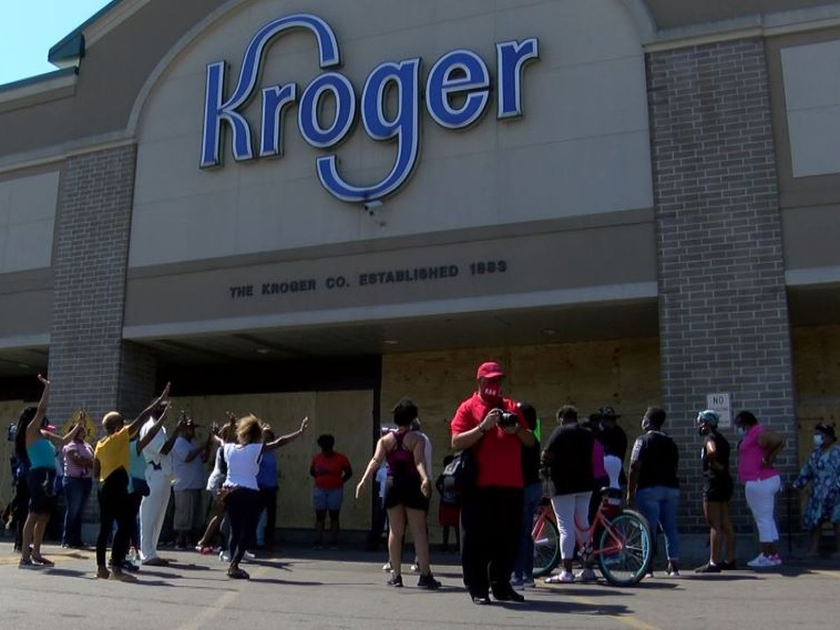Looted West End Kroger set to reopen Wednesday