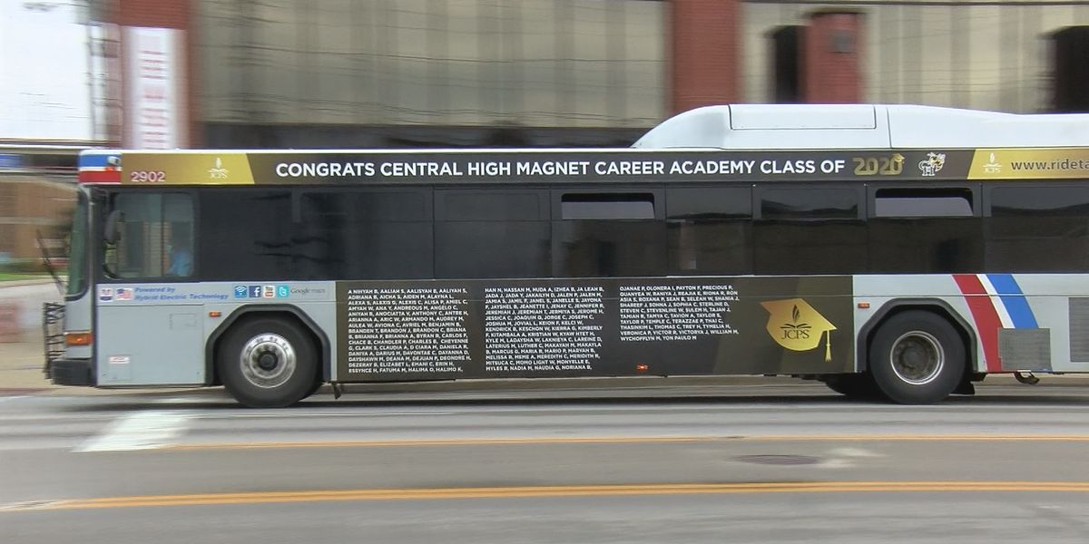 TARC buses honor JCPS seniors