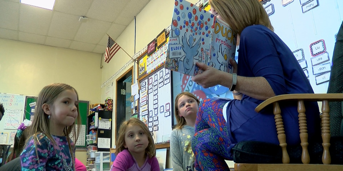 Local students learn about importance of voting