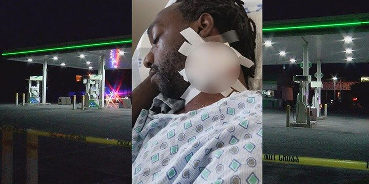 Victim of BP shooting says clerk 'lashed out'