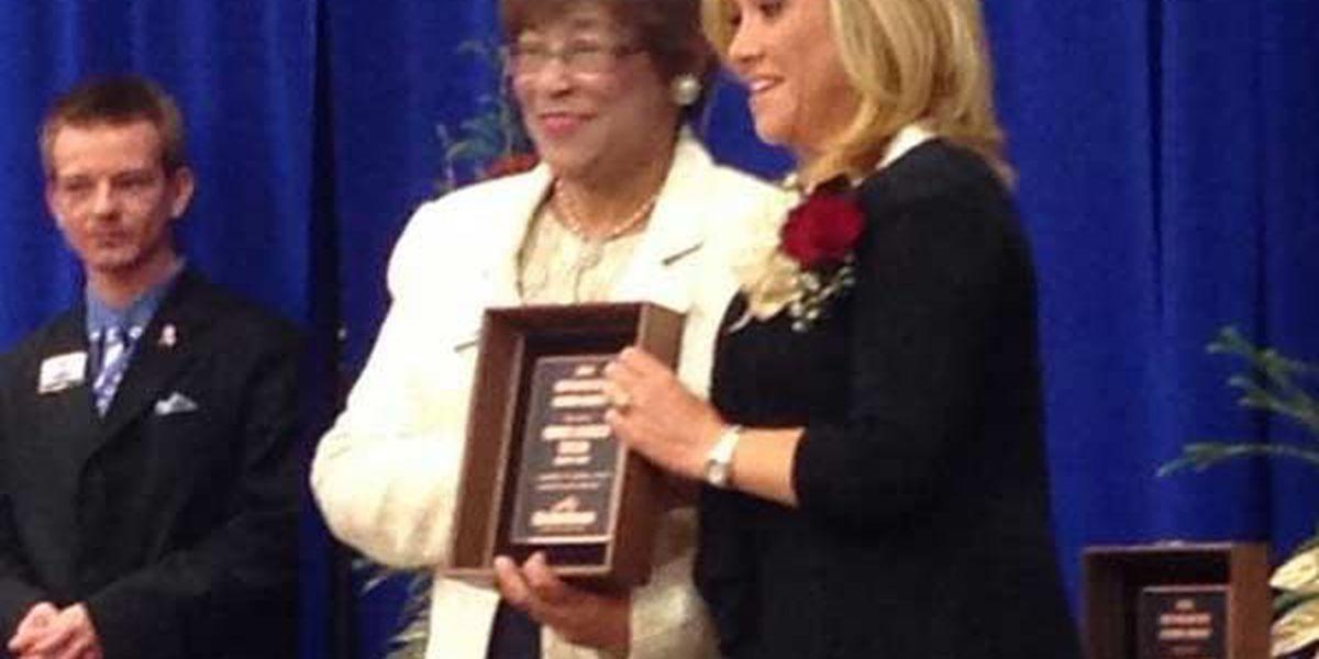 Connie Leonard inducted into ECTC Hall of Distinguished Alumni